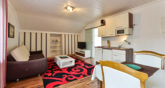 Apartmentshaus Wohnzimmer